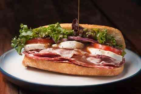 Blue Goose Deli - Sandwich With Salad, Crisps and a Drink For Two - Save 0%