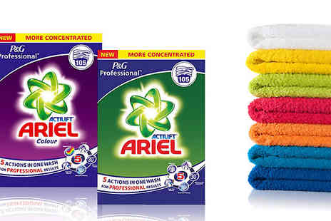 Silver Fishes - One or Two Boxes of Ariel Actilift Washing Powder Bumper Pack - Save 43%