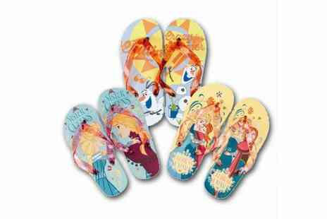 All Boxed Up - Disney Frozen Flip Flops for Kids - Save 60%