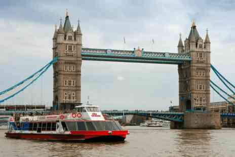 City Cruises -  Three day childs River Red Rover Hop on Hop off pass for the River Thames - Save 0%