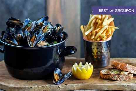 Rextail - Mussels and Fries With Drinks or Kids Menu  - Save 33%