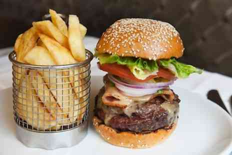 Kettners  - Cheeseburger, Chips and Champagne - Save 45%