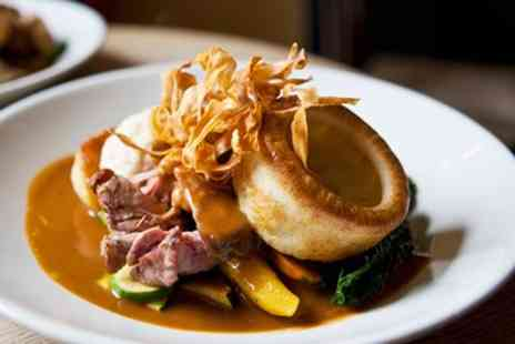 The Angel -  Sunday Lunch for 2  - Save 57%