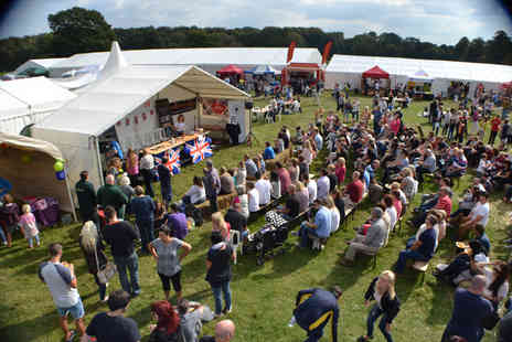 Great British Food Festival - Two tickets to the Great British Food Festival  - Save 40%