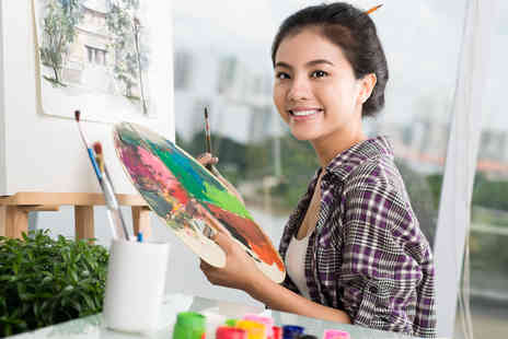 Arty Mix -  Three hour acrylic or oil painting workshop  - Save 51%