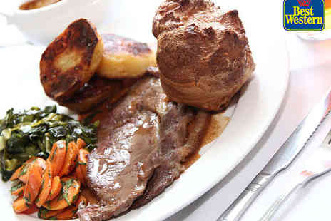 Mayfield House Hotel - Sunday Lunch for Two with Hot Drink Each - Save 53%