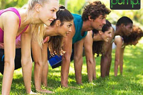Pump Fitness - Ten Boot Camp or Buggy Pump Fitness Classes - Save 78%
