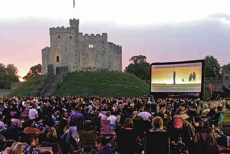 Ingresso - Cardiff Castles Open Air Cinema Ticket to Monty Python & the Holy Grail or Mamma Mia - Save 0%