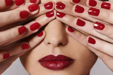 The Salon Hair and Spa - Choice of Manicure or Pedicure  - Save 0%