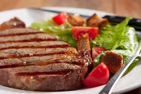 The Angel Hotel - Two Course Steak Meal For Two - Save 51%