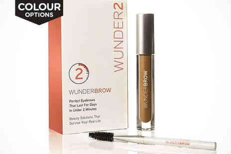 Wunder2 - WunderBrow Eyebrow Gel, Delivery Included - Save 25%