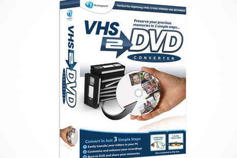 Avanquest - VHS to DVD Converter - Save 63%
