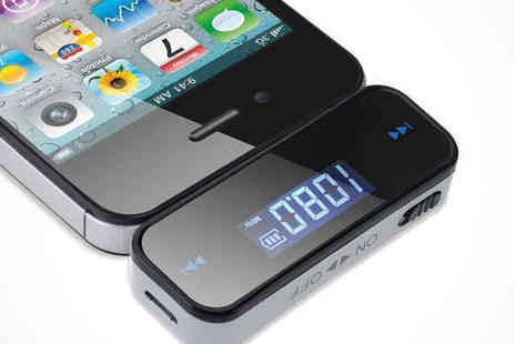 iThink Gadgets - Car Stereo Smartphone FM Transmitter - Save 69%