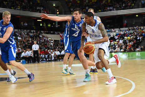 British Basketball - Tickets to Great Britain Men v New Zealand Basketball Game  - Save 49%