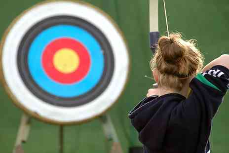 Greenfield Entertainment - Archery and Air Rifle Experience For One  - Save 59%