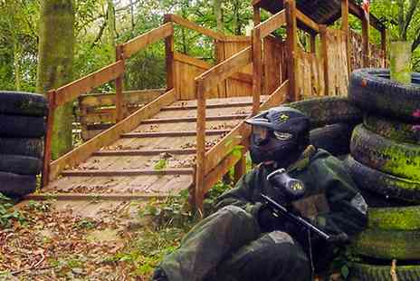 Patriot Paintball - Patriot Paintball For Five- Save 86%