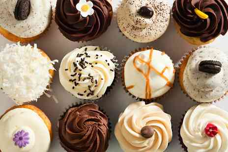 The Travelling Cupcake - Choice of Six Cupcakes  - Save 0%