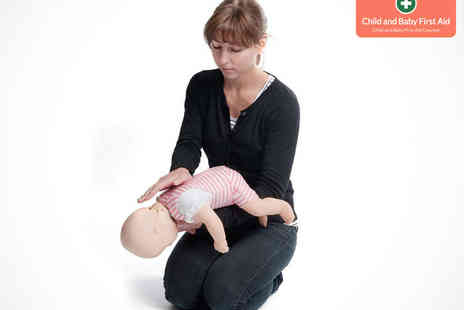 Child and Baby First Aid - Child and Baby First Aid Course for One - Save 50%
