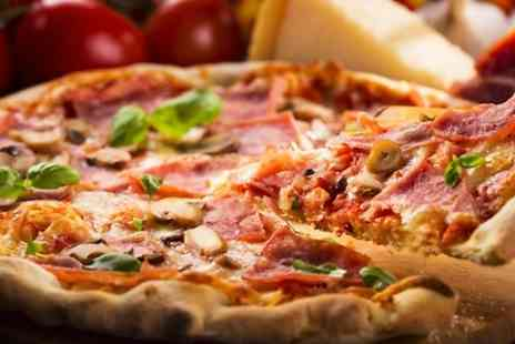 Pizza Jazz - Pizza and Wine For Two - Save 0%
