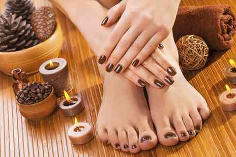 Nail Tonic Plus - Gel Manicure and Pedicure - Save 57%