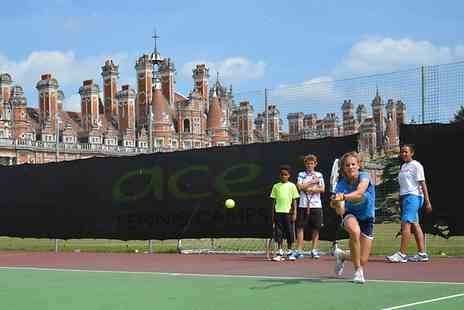 Ace Tennis Camps - One Week Kids Camp With Meals and Wimbledon Tour  - Save 40%