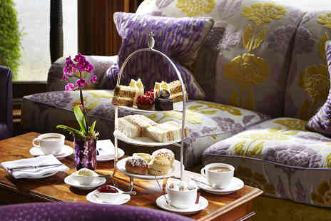 The Manor House Hotel - Michelin Starred Hendricks Afternoon Tea for One or Two - Save 17%