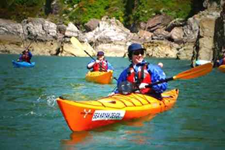 Sea Kayak Devon - Half Day Sea Kayak  Experience For Two - Save 50%