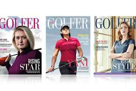 Sports Publications - 12 Month Lady Golfer Magazine Subscription With Free Delivery  - Save 67%