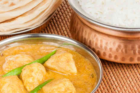 Balti King - Two courses, sides and drinks  - Save 67%