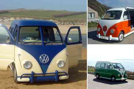 Kernow Kampers - Explore Cornwall & Devon in your own retro campervan over One, Two or Three Nights  - Save 49%