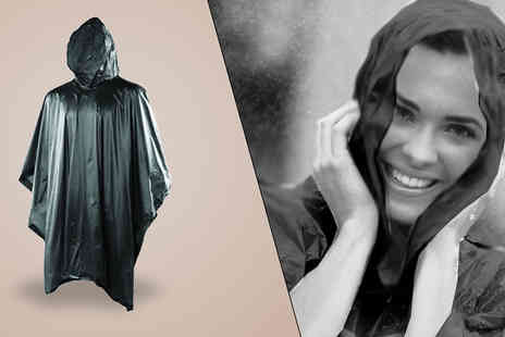 Online Gift Store - PVC Hooded Poncho - Save 50%