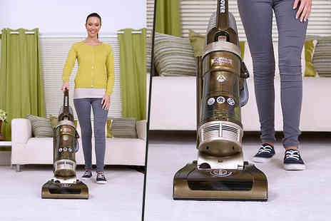 Hoover  - Turbo power bagless upright vacuum cleaner - Save 76%