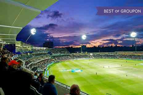 England Cricket ODI - One VIP Skyline ticket to a choice of Birmingham Bears NatWest T20 Blast Fixture  - Save 0%