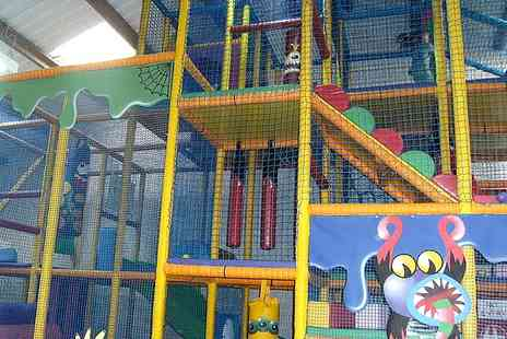 Mini Monsters Softplay - Childrens Soft Play Entry With Meal - Save 57%