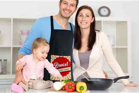 All Personalised Blankets - Fathers Day Personalised Cooking Apron - Save 45%