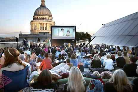 Press Play - Ticket to Press Play Rooftop Cinema  - Save 30%