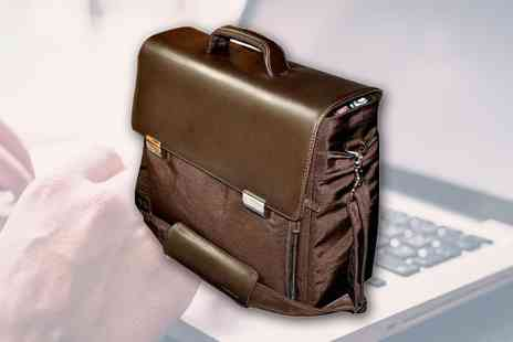 eCom Group - Tucano Italian Genuine Leather Laptop Briefcase - Save 0%