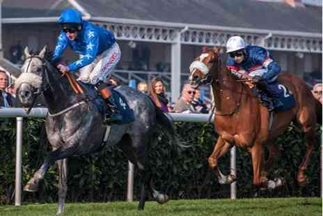 Bath Racecourse - Grandstand entry ticket and racecard for two at Bath Racecourse   - Save 53%