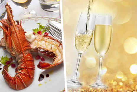 The Lobster House - Whole lobster or steak each, chips and bottle of Prosecco for Two  - Save 56%