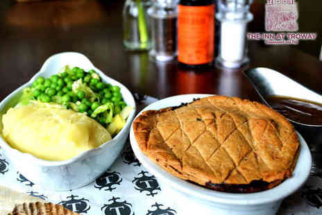 The Inn at Troway - Gourmet Pie with Two Sides Each for Two  - Save 54%