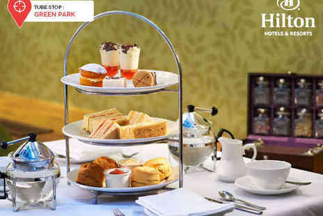 Hilton London Green Park - Traditional Afternoon Tea for Two with a Glass of Champagne Each or Chocolate Afternoon Tea for Two - Save 0%