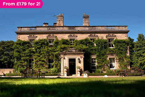 Eshott Hall Hotel - A Gourmet Experience in a Grand Northumberland Country House - Save 0%
