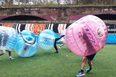 Xtreme Soccer - Bubble Football for Up to 15 People - Save 65%