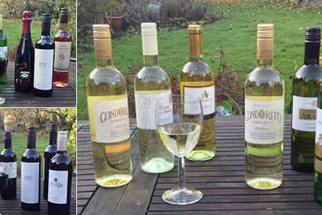 Smeda Wines - Selection of six summer fine wines  plus delivery - Save 0%