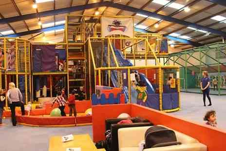 Krazy Play Days - Entry to Soft Play  For Two Children and and Adult - Save 50%