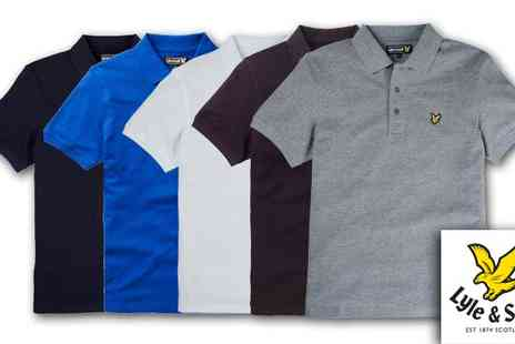 Intriangle Solutions - Lyle & Scott Mens Polo Shirts - Save 46%