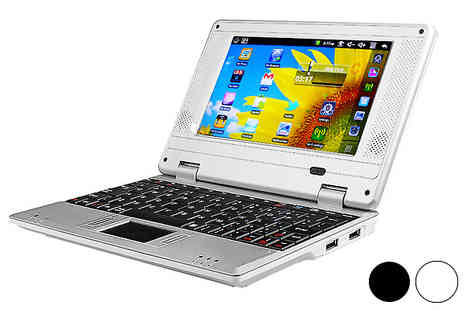 Gadget Genies - 7 inch 4GB Android Netbook - Save 70%