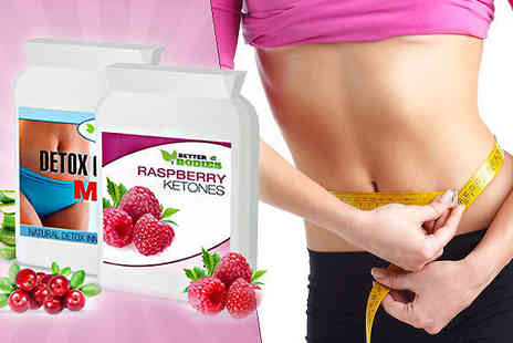 BioNutricals - Raspberry Ketone and Colon Cleanse Twin Pack - Save 80%