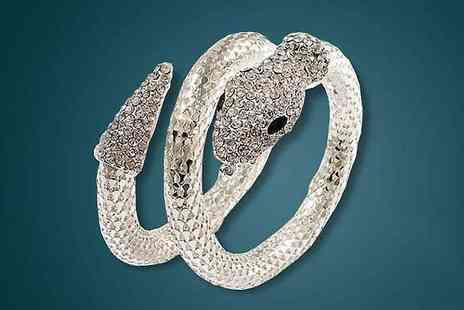 Finishing touch - Snake Bangle - Save 82%