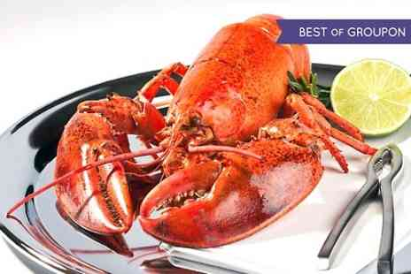 Grand Knightsbridge - Double Burger and Whole Lobster With Fries and Prosecco For Two - Save 0%